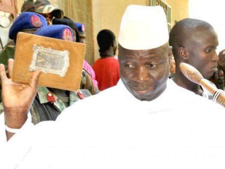 Presidente da Gâmbia, Yahya Jammeh (Fonte: Reprodução Twitter)