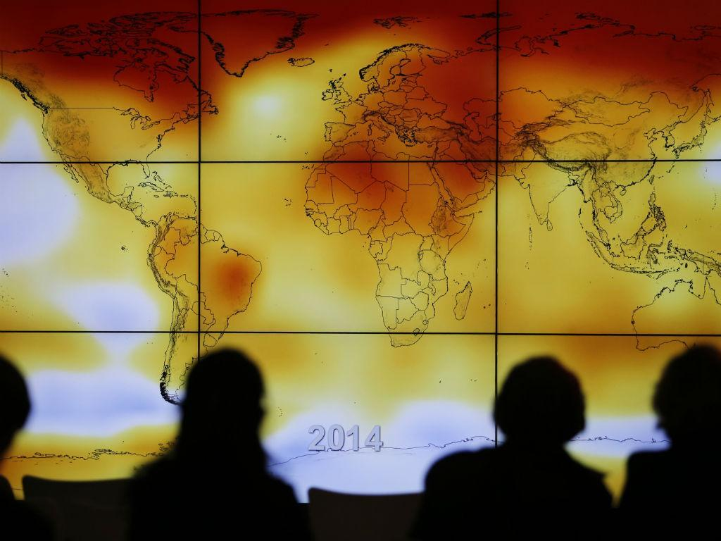Postais da cimeira do clima (Fonte: Reuters)