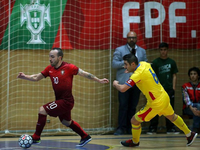 Futsal: Roménia-Portugal (Lusa)