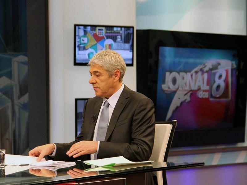 José Sócrates em entrevista exclusiva no Jornal das 8