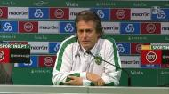 «Arbitragem? Está tudo igual, o que mudou foi o Sporting estar na frente»
