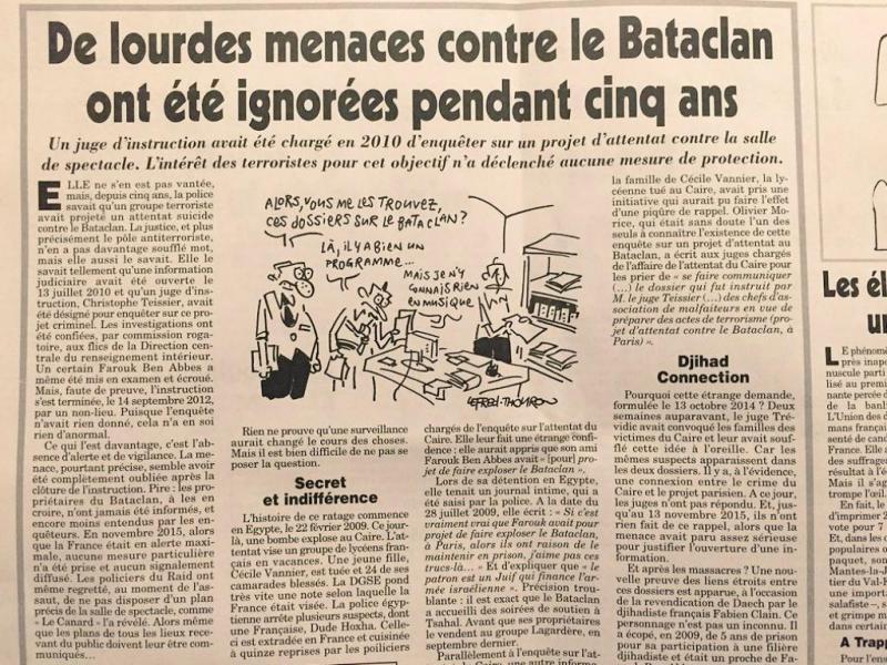 Terrorista planeou atacar o Bataclan em 2010