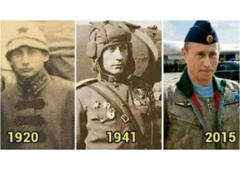 Será Vladimir Putin imortal?
