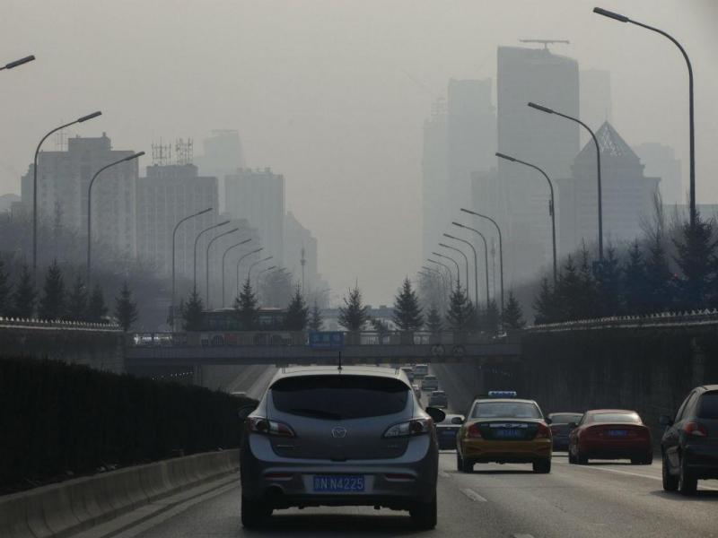 Nova nuvem de poluição na China