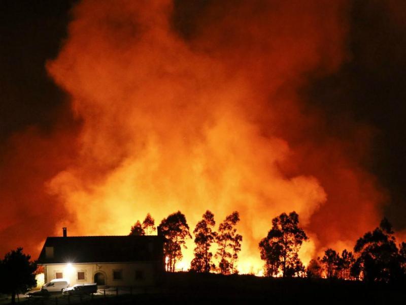 Incêndio em San Sebastián, Espanha