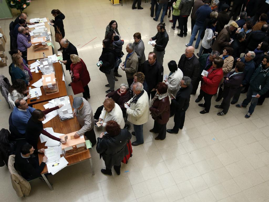 Eleições em Espanha (Barcelona)