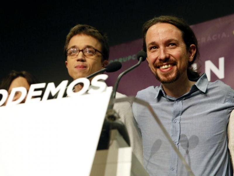 Podemos festeja resultado nas eleições gerais em Espanha