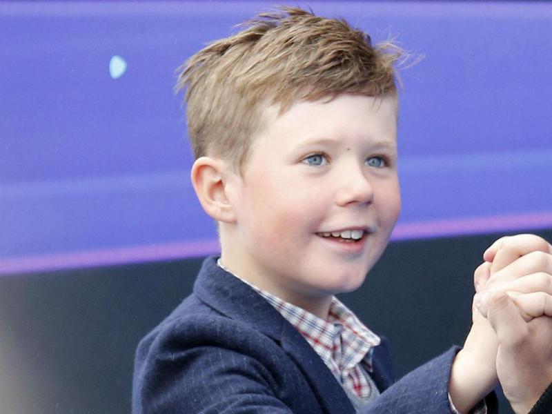O príncipe Christian da Dinamarca (REUTERS)