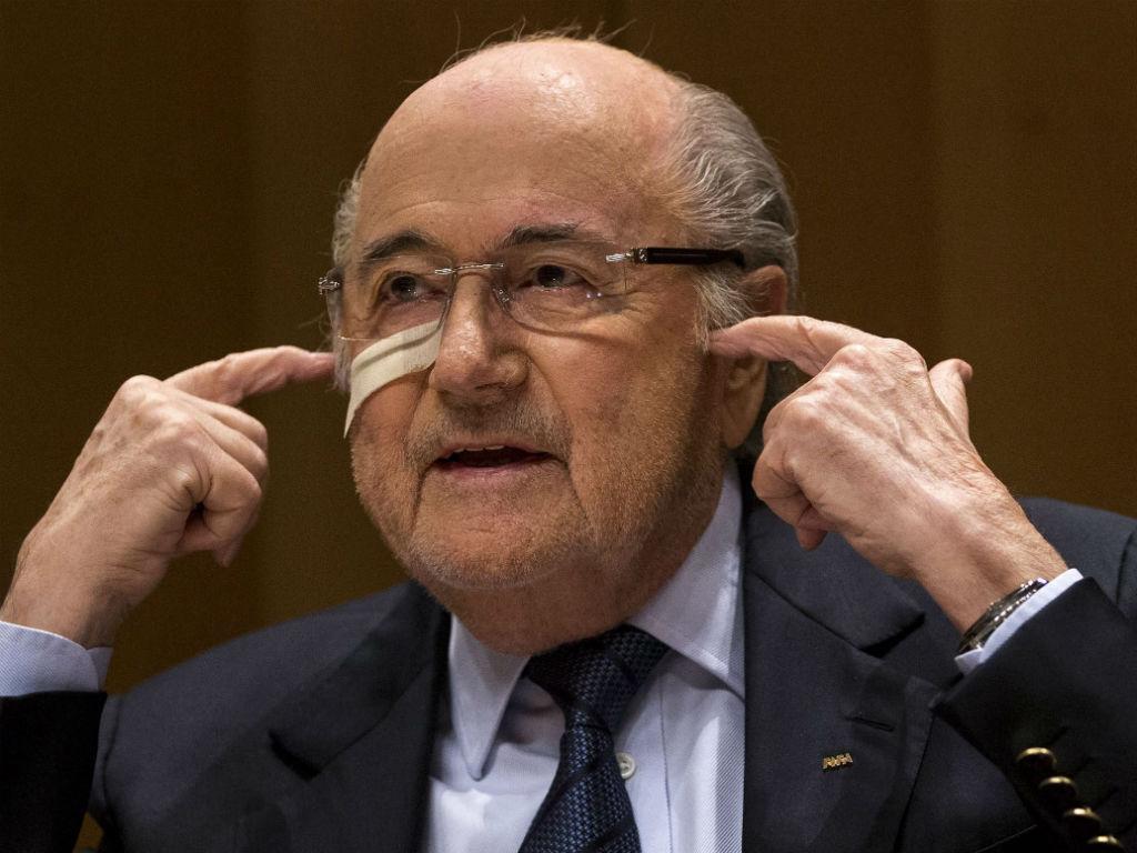 Joseph Blatter (EPA/Patrick B. Kramer)