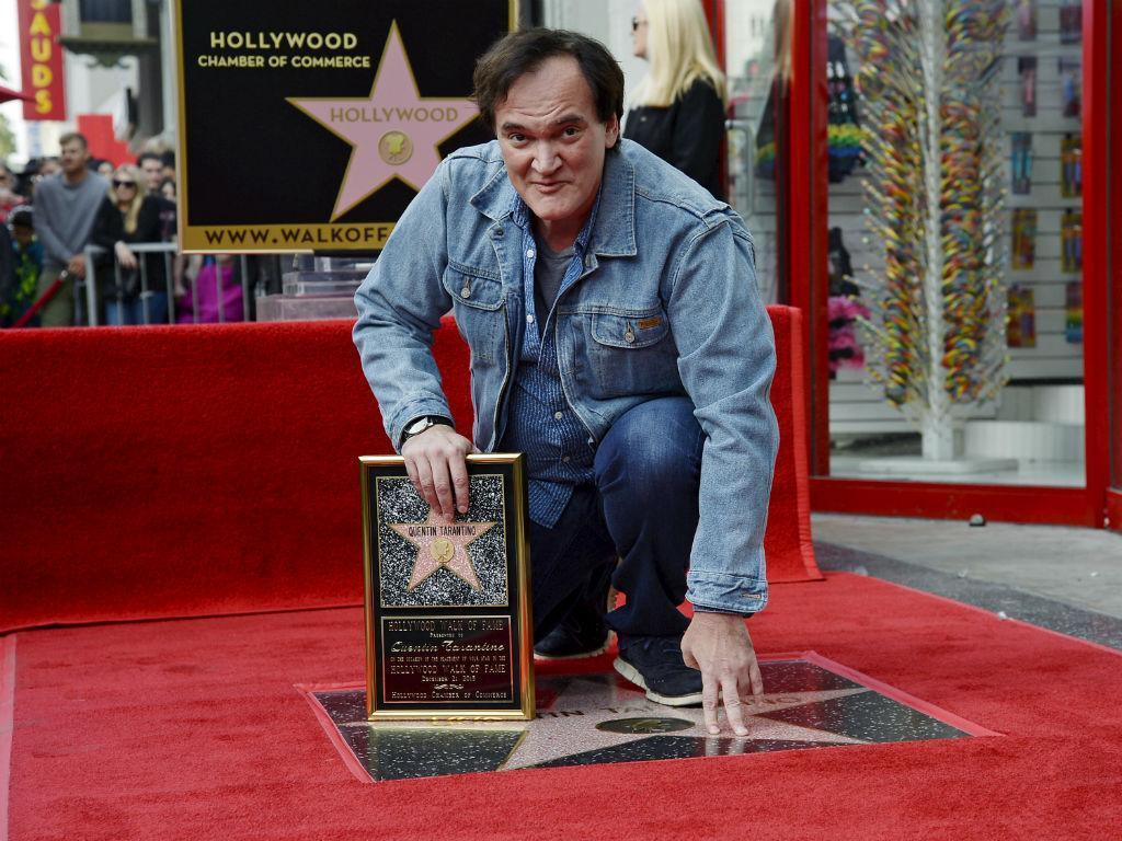 Quentin Tarantino já tem uma estrela no