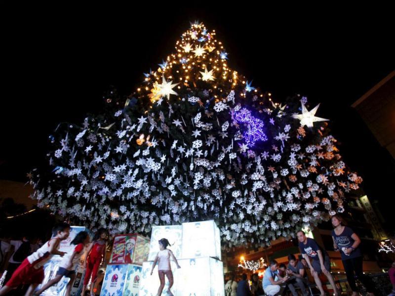 Natal em Manila, Filipinas