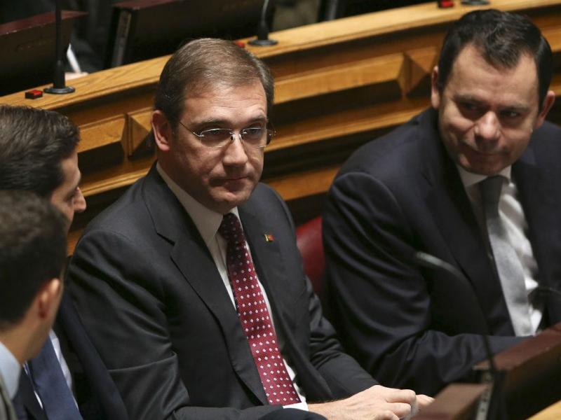 Passos Coelho e Luís Montenegro (PSD)