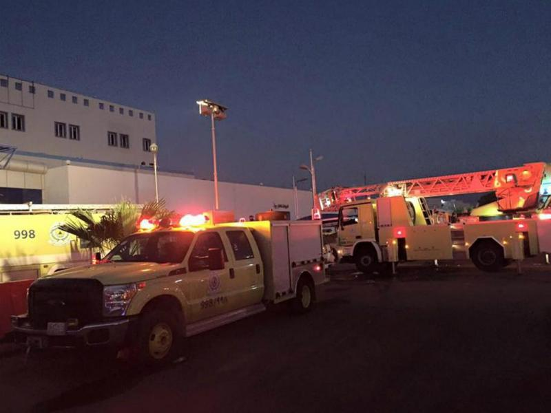 Fogo em hospital na Arábia Saudita [Lusa]