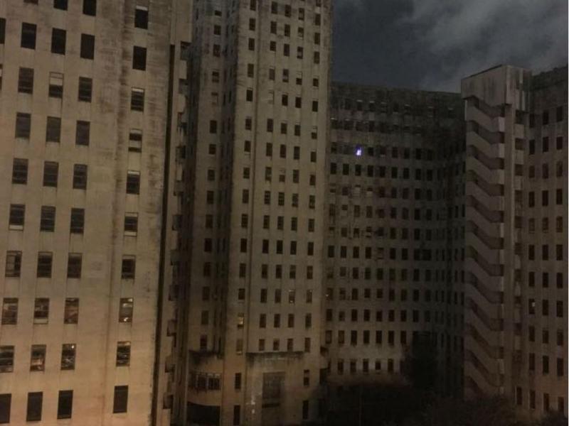 Luz misteriosa em hospital abandonado
