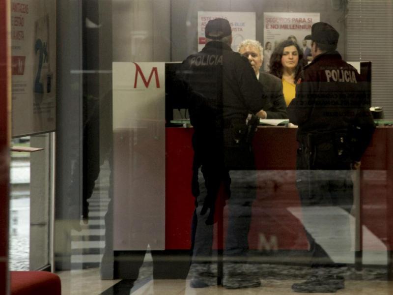 Agência bancária assaltada no centro de Leiria