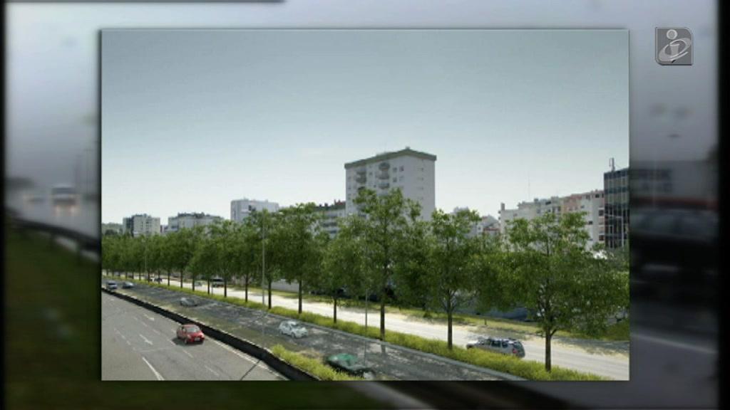 Câmara de Lisboa que tornar a Segunda Circular mais verde