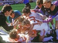 Bayer Leverkusen-Estugarda, 1992