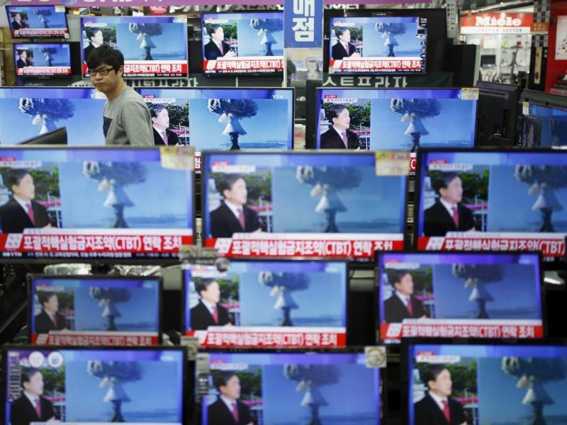 Coreia do Norte faz teste nuclear
