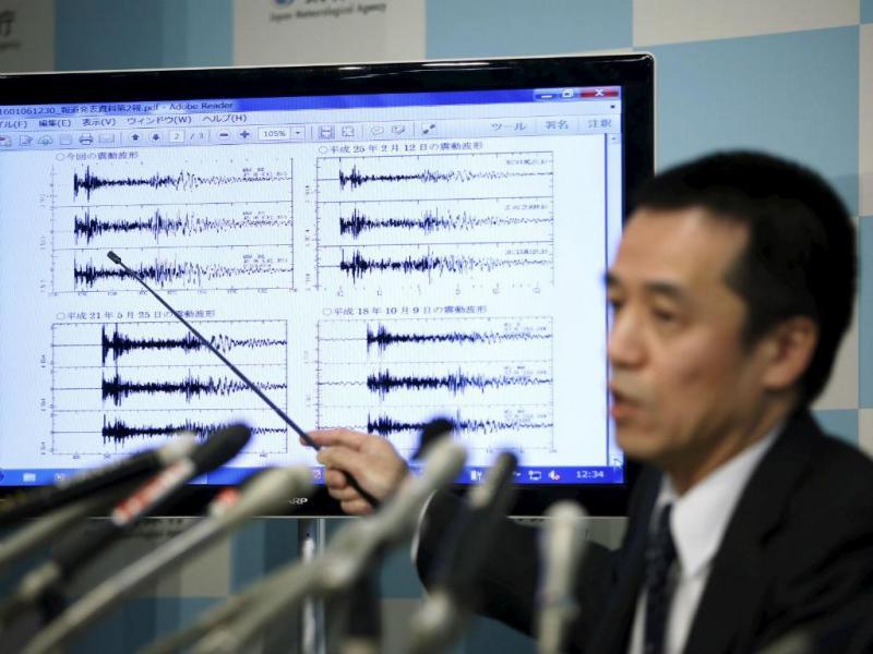 Ensaio nuclear da Coreia do Norte causa sismo no Japão