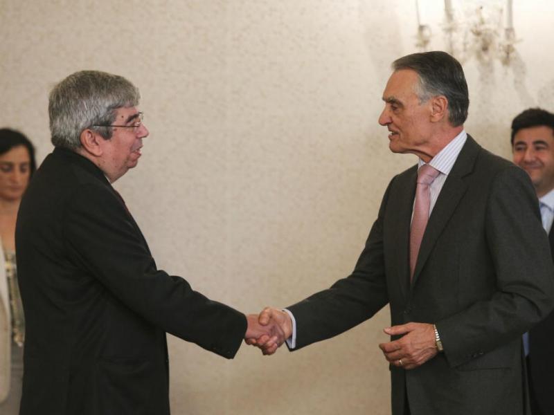 Cavaco recebe cumprimentos dos líderes dos grupos parlamentares e os membros da Mesa da Assembleia da República
