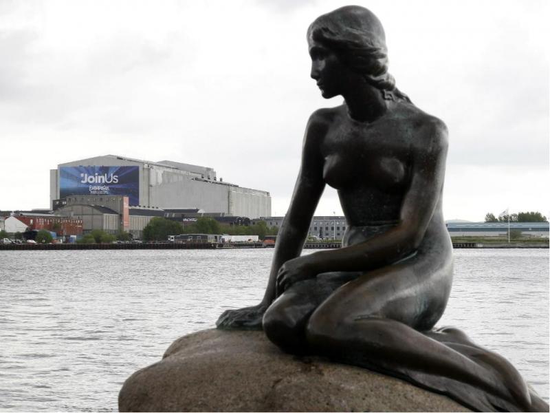 Pequena Sereia em Copenhaga