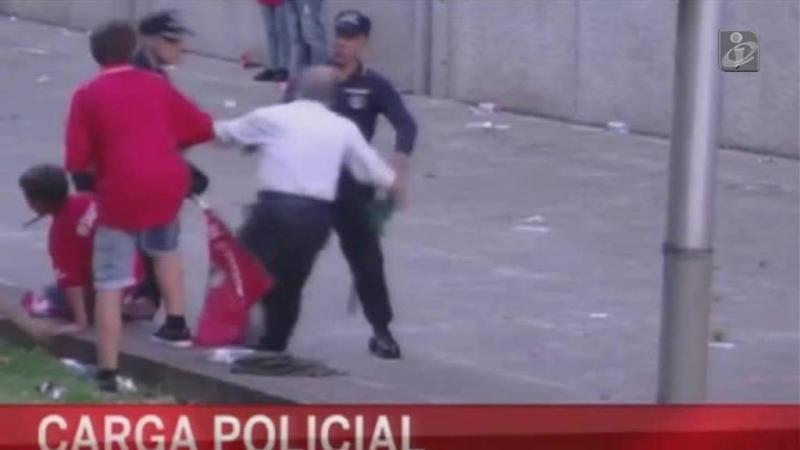 Subcomissário que agrediu adepto do Benfica suspenso por 200 dias, sem direito a salário