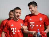 Bayern em estágio no Qatar (EPA)