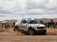 Quarta etapa do Rali Dakar (EPA)