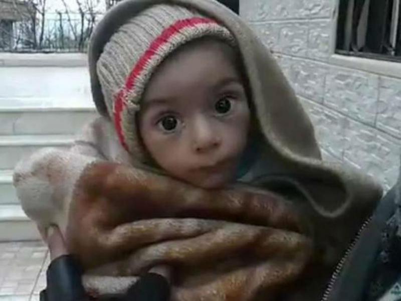 Madaya, a cidade síria onde se morre à fome (reprodução Twitter)