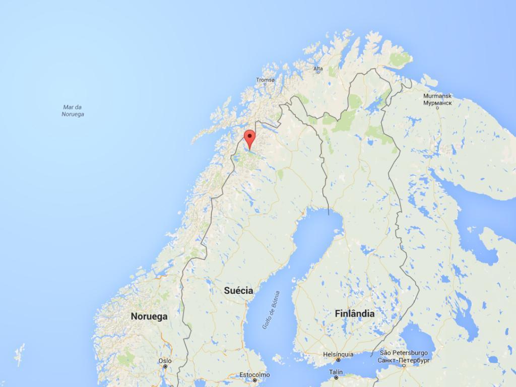 """Queda de avião nos """"alpes"""" suecos faz dois mortos"""