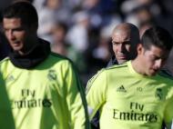 Treino do Real Madrid (REUTERS/ Juan Medina)