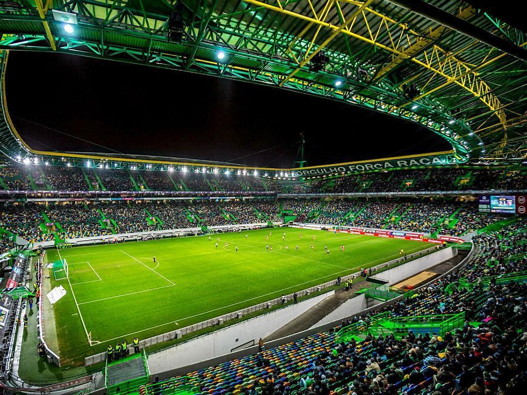 2º: Estádio de Alvalade, Sporting. Média na Liga 2016/17: 39.250 espectadores.