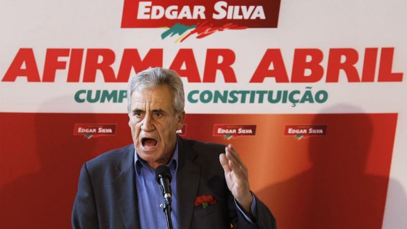 Jerónimo de Sousa em campanha com Edgar Silva nas presidenciais