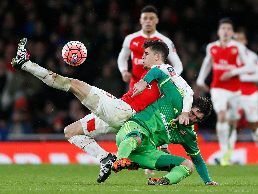 Arsenal-Sunderland (Reuters)
