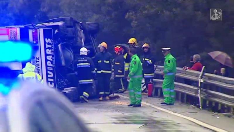 Um morto em acidente no IP3
