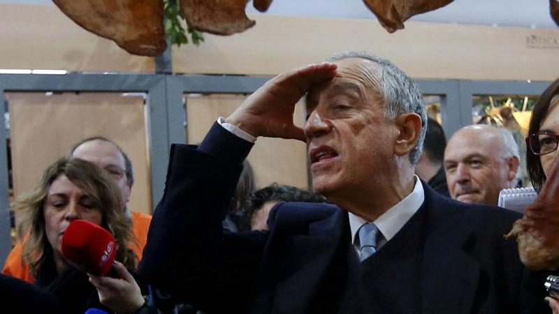 Marcelo Rebelo de Sousa em Boticas(Lusa\José Sena Goulão)