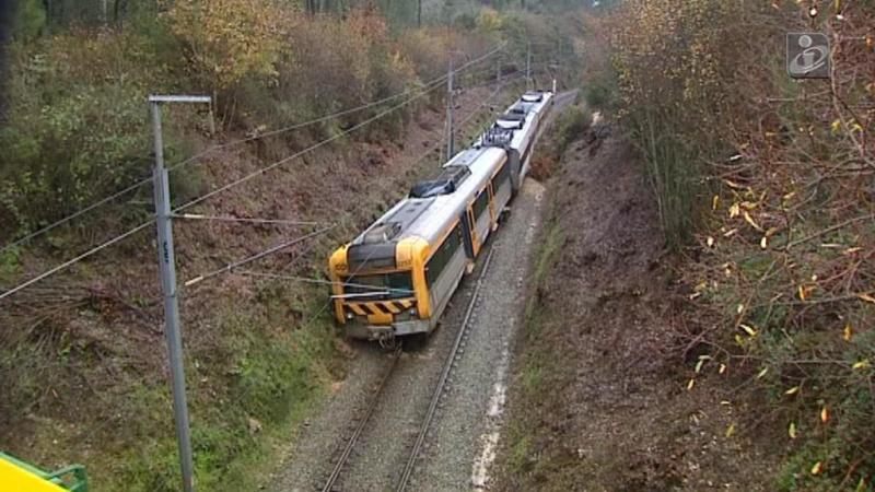 Descarrilamento de comboio na Linha da Beira Alta
