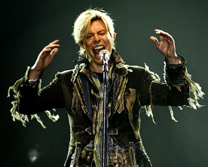David Bowie em digressão com