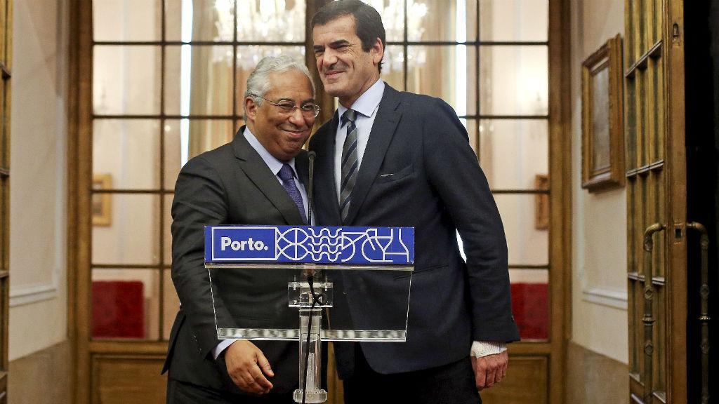 António Costa e Rui Moreira