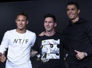 Bola de Ouro: Neymar, Messi e Ronaldo