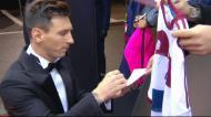 Bola de Ouro: Messi chega à passadeira vermelha