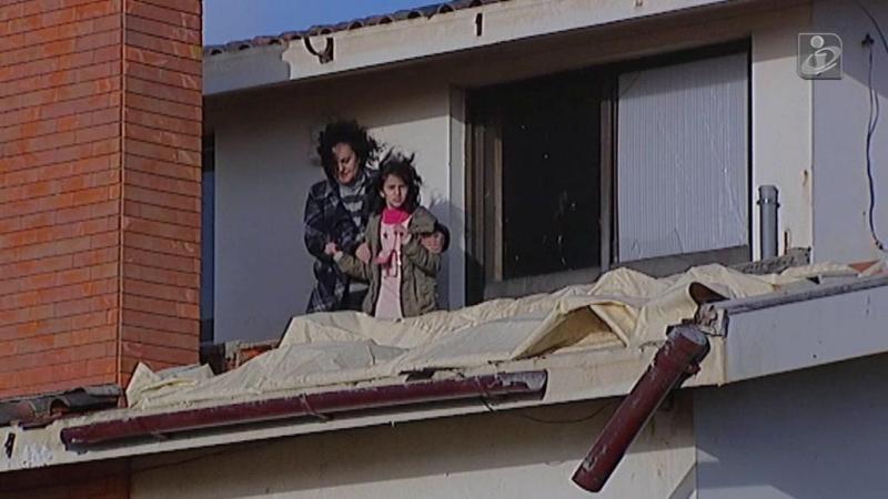 Matosinhos: população de Lavra concerta o que o mini-tornado destruiu