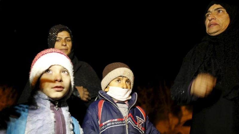 Crianças sírias com autorização para abandonar Madaya