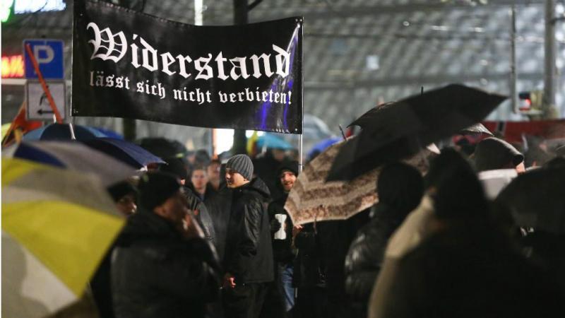 Protestos contra a presença de refugiados na Alemanha