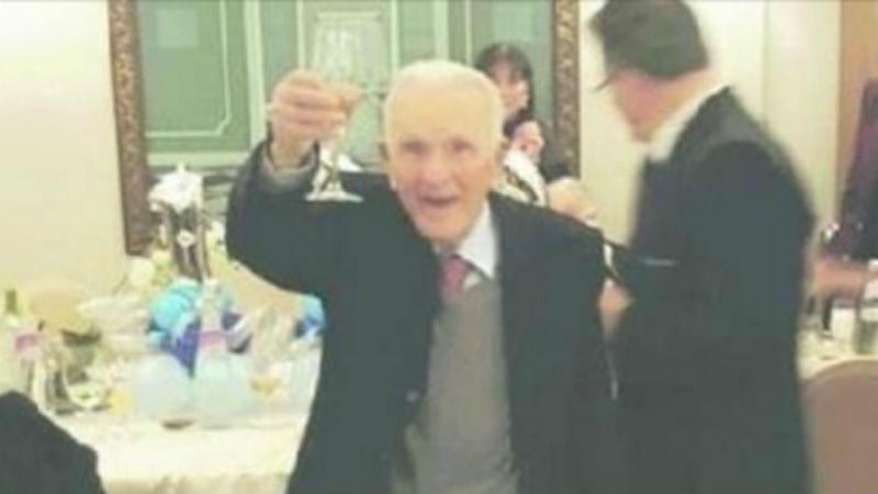 Procopio Di Maggio a festejar o 100º aniversário