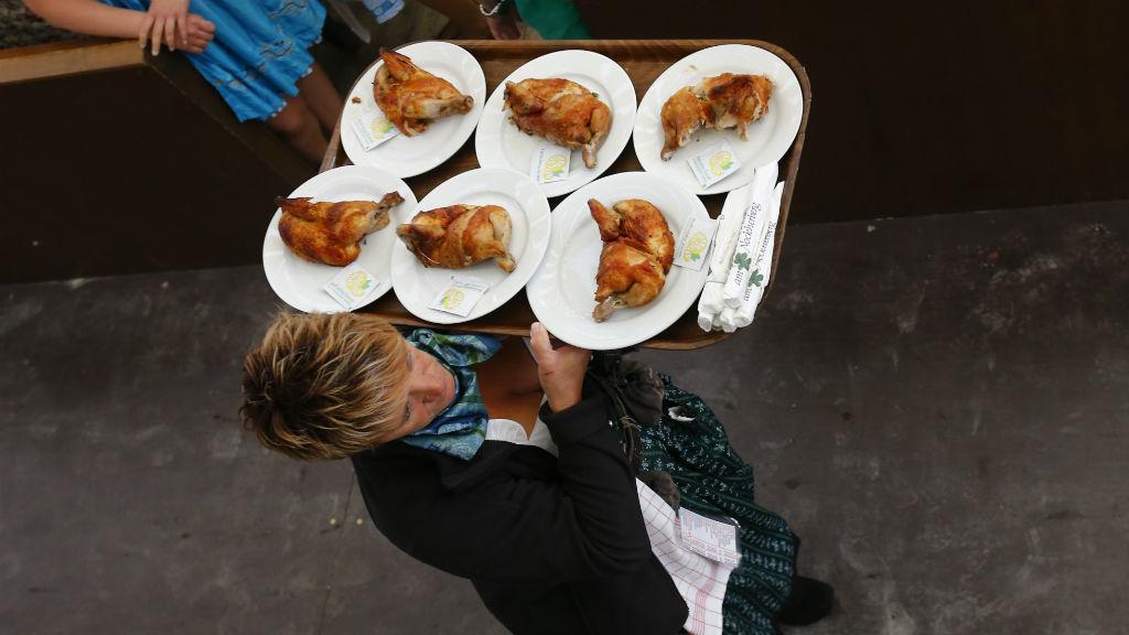 Consumo de carne de aves