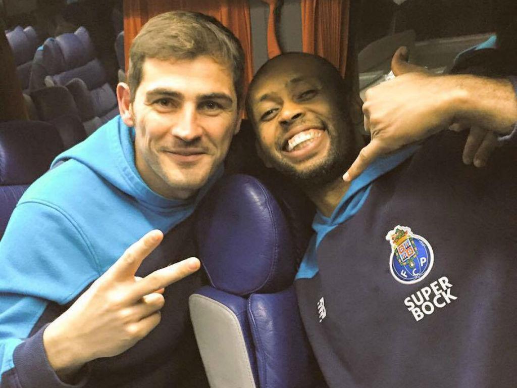 Helton e Casillas