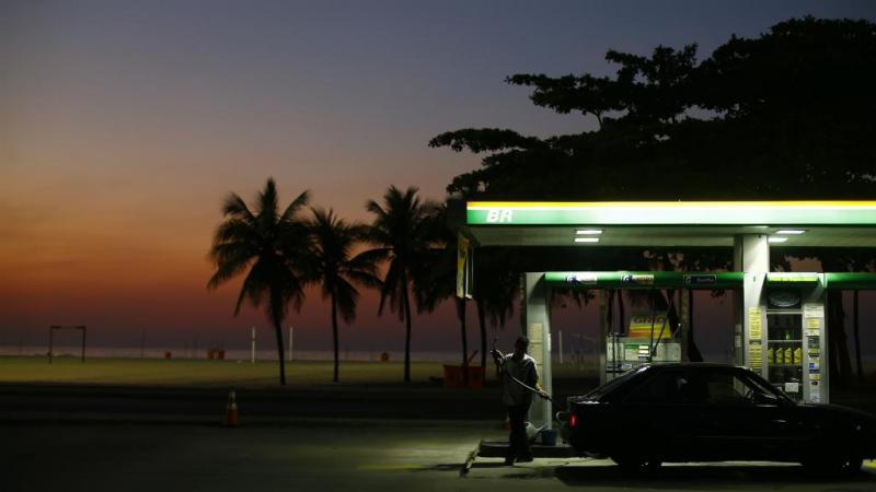 Bomba de gasolina no Brasil