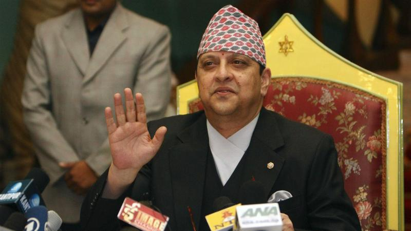 Último rei do Nepal, Gyanendra Shah