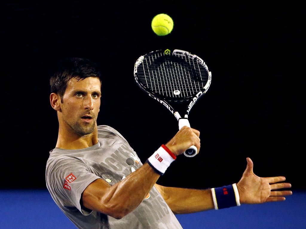 Djokovic, Wawrinka e Murray já treinam em Melbourne (REUTERS)